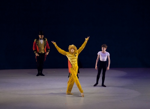 Carnival of the Animals - Luther DeMyer as the Lion and Ryan Ward as Francis