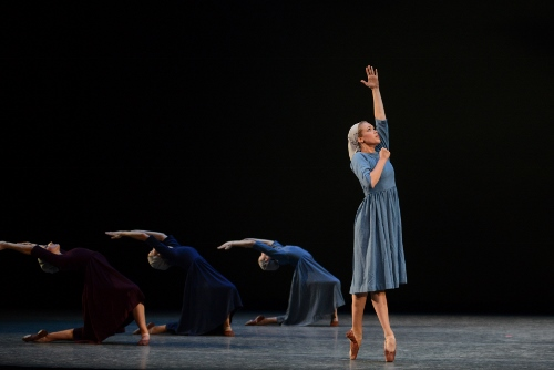 IU Ballet Theater in Antony Tudor's 'Dark Elegies'.
