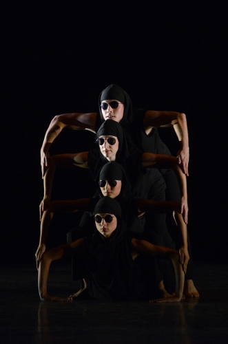 IU Ballet Theater in David Parsons' 'The Envelope'.