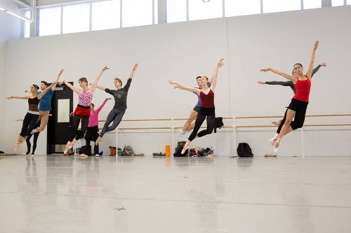 Pennsylvania Ballet dancers get ready to Press Play