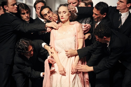 Tanztheater Wuppertal in Pina Bausch's 'Kontakthof' - BAM Howard Gilman Opera House Brooklyn, N.Y.