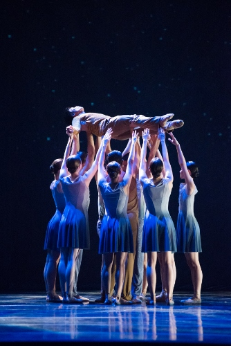 Royal Winnipeg Ballet dancers in 'Going Home Star - Truth and Reconciliation'.