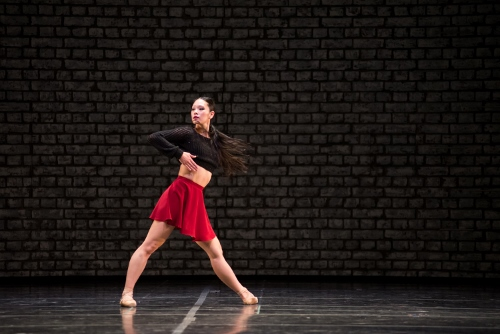 Royal Winnipeg Ballet dancer Sophia Lee in 'Going Home Star - Truth and Reconciliation'.