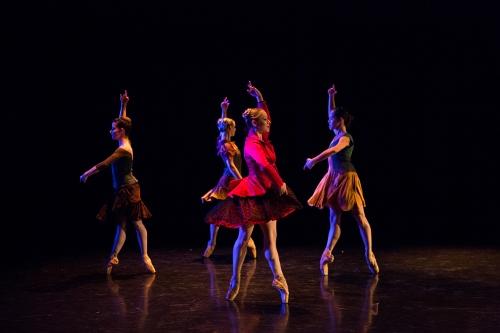 BalletMet dancers in Brian Enos' 'Les Absents'.