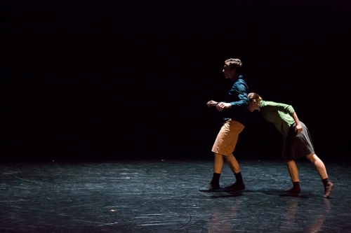 BalletMet dancers Karen Wing and Gabriel Gaffney Smith in Gustavo Ramirez Sansano's 'Lovely Together'.