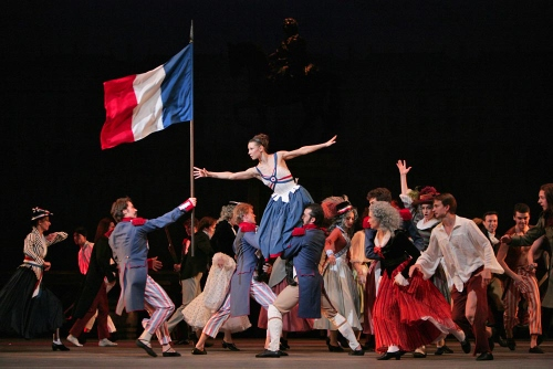 Maria Alexandrova in 'The Flames of Paris'.