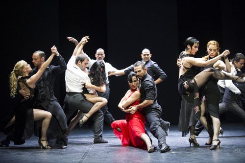 A scene from Milonga @ Theatre Jorat, Switzerland. Directed by Sidi Larbi Cherkaoui. Produced by Sadler's Wells.<br>(Opening 23-05-13)<br>&copy;Tristram Kenton 05/13<br>(3 Raveley Street, LONDON NW5 2HX TEL 0207 267 5550 Mob 07973 617 355)email: tristram@tristramkento