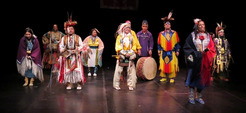Thunderbird American Indian Dancers' 40th annual Dance Concert and Pow-Wow, Theater for the New City, 2015.