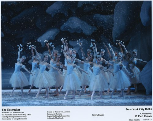 Dance of the Snowflakes in NYCB's 'George Balanchine's The Nutcracker(TM)'