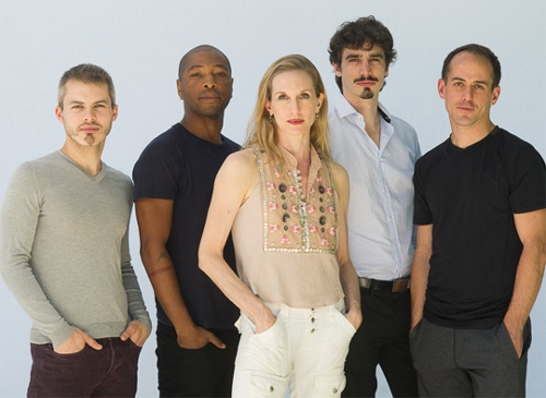 The cast of 'restless Creature' L-R: Joshua Beamish, Kyle Abraham, Wendy Whelan, Alejandro Cerruda and Brian Brooks.