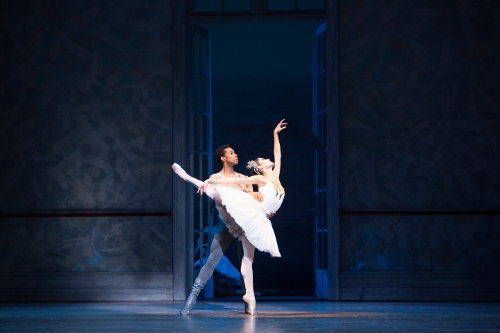 Principal Dancer Jermel Johnson and Company Member Mayara Pineiro in Christopher Wheeldon's 'Swan Lake.'