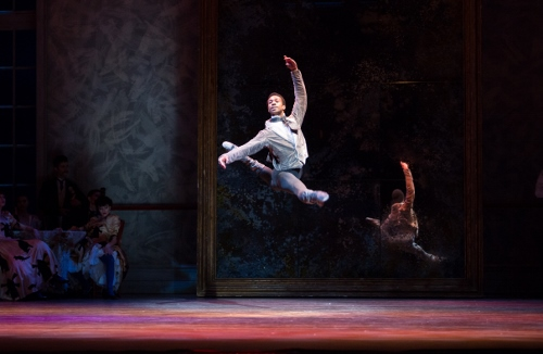 Principal Dancer Jermel Johnson in Christopher Wheeldon's 'Swan Lake.'