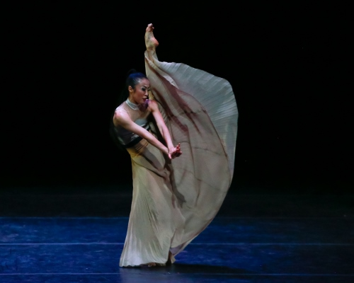PeiJu Chien-Pott of the Martha Graham Dance Company in Andonis Foniadakis' 'Echo.'
