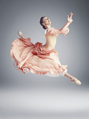 Mariya Dashkina Maddux in Martha Graham's 'Appalachian Spring.'