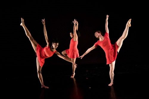 Victory Dance Project's Jessica Israel, Maggie Segale and Raquel Cohen.