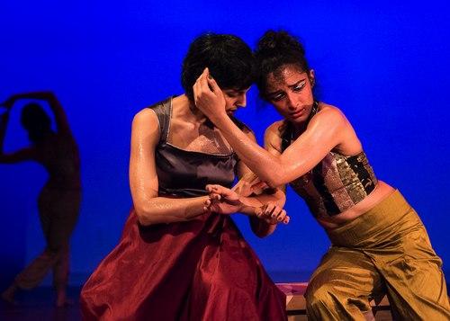 Veiled Moon production by Preeti Vasudevan and Thresh Dance Company <br>Duet - Samita Sinha and Preeti Vasudevan