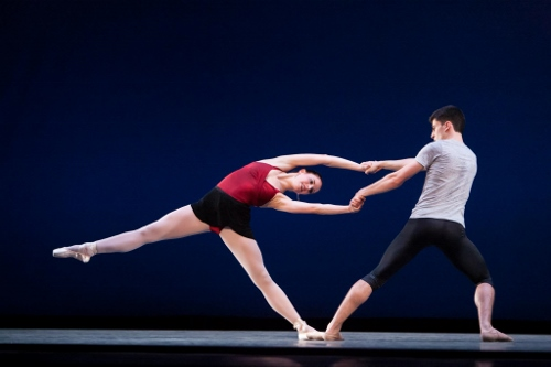 IU Ballet Theater's Katie Zimmerman and Aaron Anker.