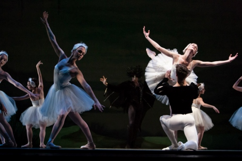 IU Ballet Theater's Cara Hansvick, Colin Ellis and Ellie Edwards.