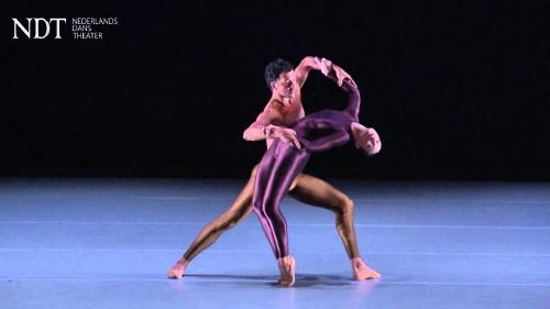 Nederlands Dans Theater 1 in Hans Van Manens' 'Kleines Requiem.'
