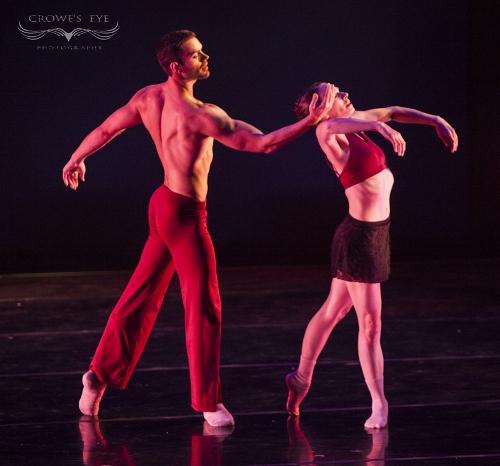 DK dancers in Stephanie Martinez's<br>'Taking Watch.'
