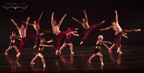 DK dancers in Stephanie Martinez's<br>'Taking Watch.'