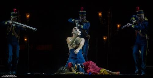 A scene from Salvador Távora's 'Carmen.'