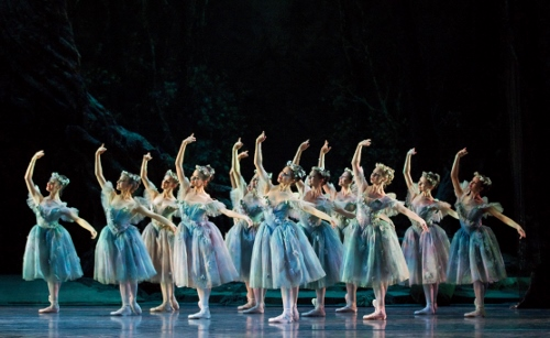 The Royal Ballet in Frederick Ashton's 'The Dream.'