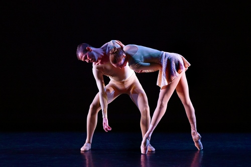 Ballet/NY's Brent Whitney and Katie Gibson in William Forsythe's 'Slingerland.'