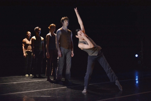 GroundWorks DanceTheater in Eric Michael Handman's 'Remora.' Photo courtesy of GroundWorks DanceTheater.