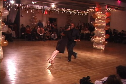 Stepping Out Studios Holiday Gala 2006 Susan Robinson & Alfredo Melendez dance Argentine Tango