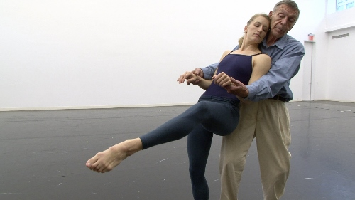 Dancer Amy Young and Paul Taylor in a scene from 'Paul Taylor: Creative Domain.'