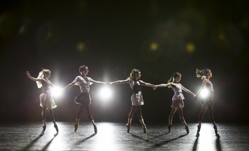 BalletMet dancers in James Kudelka's 'Girls Just Wanna Have Fun.'