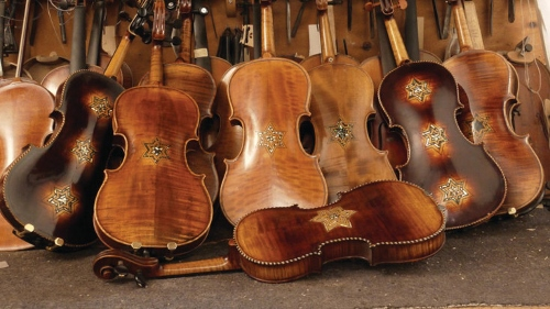 Violins of Hope. Photo by Debra Yasinow.