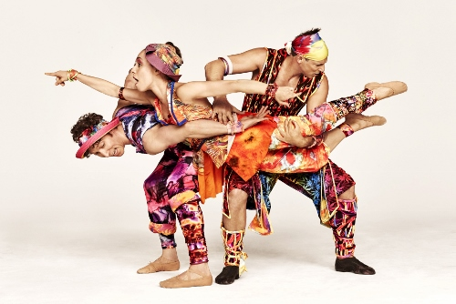 "Ron Todorowski, Amy Ruggiero and John Selya in Twyla Tharp's ""Yowzie."""
