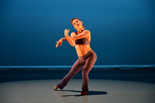 Ailey II's Deidre Rogan in Robert Battle's 'Takademe.'