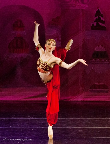Brecke Swan in the Arabian Dance.