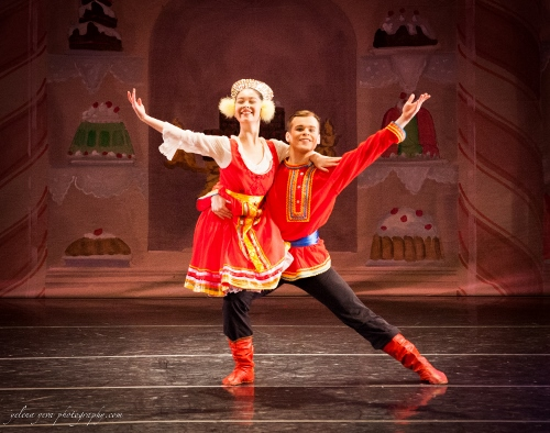 Jack Furlong and Mari Bell in the Russian Dance.