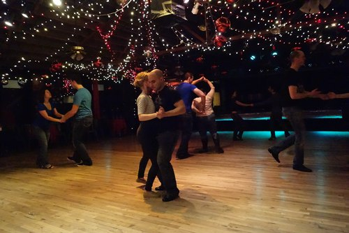 West Coast Swing at The Mercury Cafe