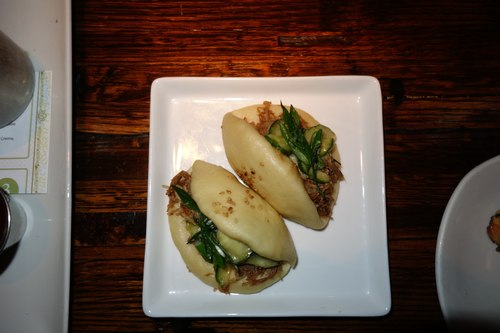 Duck Buns at Linger