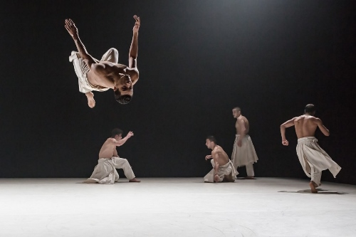 Compagnie Hervé KOUBI's dancers in 'What The Day Owes To The Night.'