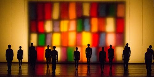 Artists of Pennsylvania Ballet in Jerome Robbins' 'NY Export: Opus Jazz.'