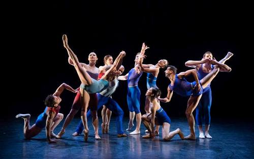BalletX dancers in Matthew Neenan's 'Show Me.'