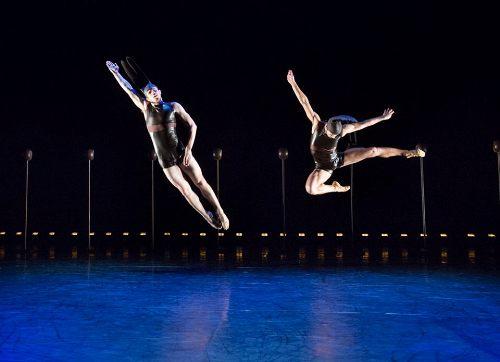 BalletX dancers Zachary Kapeluck and Richard Villaverde in Trey McIntyre's 'Big Ones.'