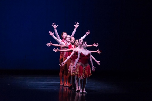 Nashville Ballet in James Sewell's 'Chopin Tributes.'
