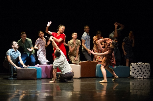 Ballet Hispanico in Gustavo Ramirez Sansano's 'Flabbergast.'