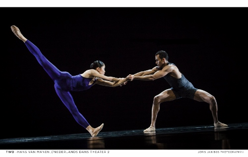 NDT2. Two of Hans van Manen. Dancers: Madoka Kariya and Alexander Anderson .