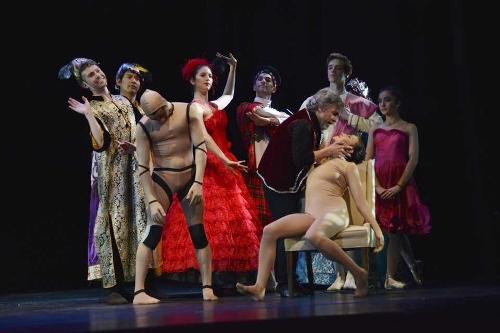 Cleveland Ballet dancers in Ramón Oller's 'Coppélia.'
