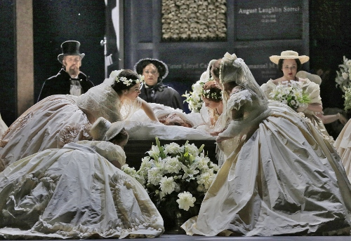 Ensemble Cast in 'Roméo et Juliette.'