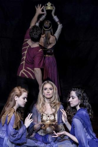 Cast of Dances Patrelle's 'Macbeth.'