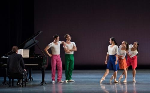Cincinnati Ballet dancers in Justin Peck's 'Capricious Maneuvers.'